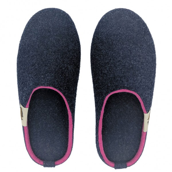 GUMBIES – Outback Slipper, NAVY-PINK