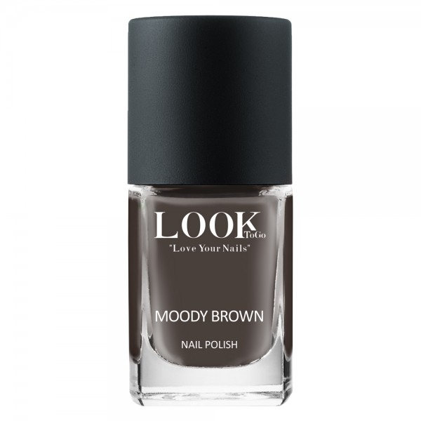 "Nagellack ""Moody Brown"" von Look-To-Go"