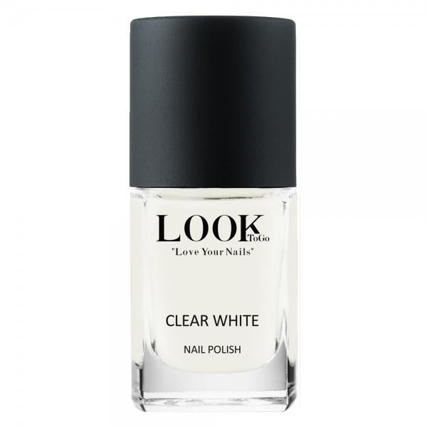 """Nagellack """"Clear White"""" von Look-To-Go"""
