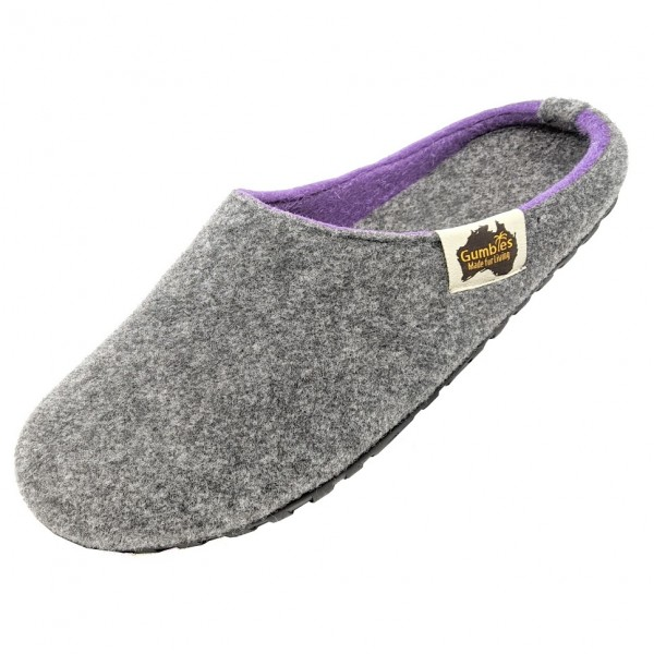 GUMBIES – Outback Slipper, GREY-LILAC