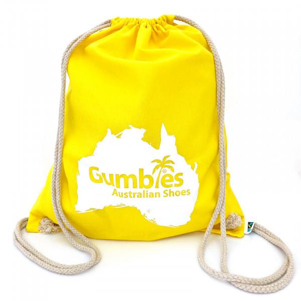 GUMBIES - Rucksackbeutel gelb