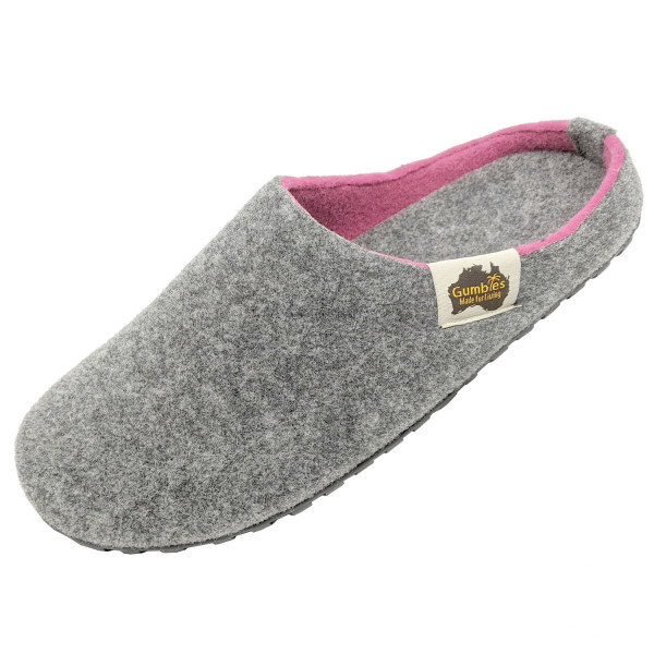 GUMBIES – Outback Slipper, GREY-PINK
