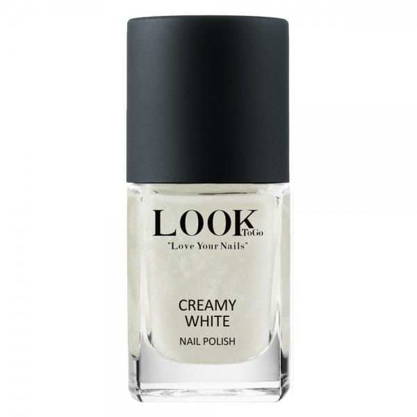 """Nagellack """"Creamy White"""" von Look-To-Go"""