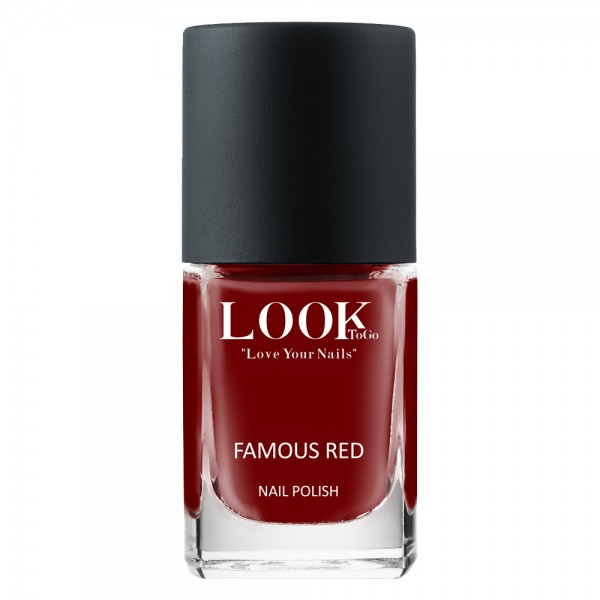 """Nagellack """"Famous Red"""" von Look-To-Go"""