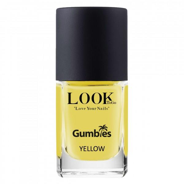 """Nagellack """"GUMBIES Yellow"""" von Look-To-Go"""